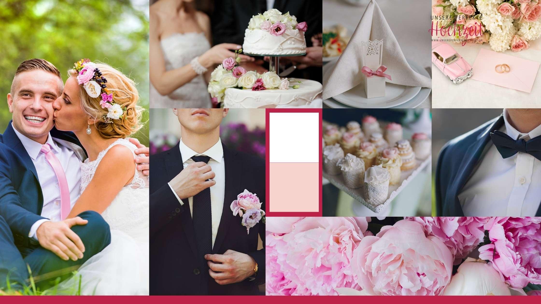 Moodboard - Unsere perfekte Hochzeit.de - Erste Schritte der Hochzeitsplanung